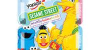 Yoplait Sesame Street Fruit & Flavoured Yogurt