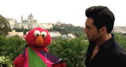 David bustamante and elmo