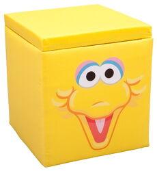 Delta children's products 2011 big bird ottoman storage