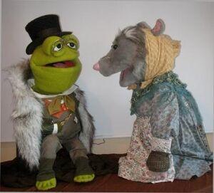 Emmet live puppets