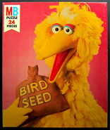 Milton bradley 1976 puzzle big bird