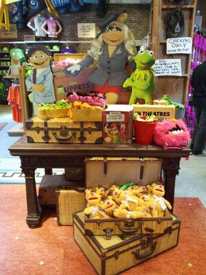 Muppet store display November 2011