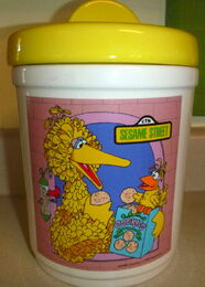 Cookie jar 1980 demand marketing big bird
