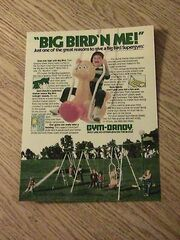 Gym dandy 1982 big bird supergym