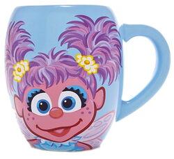 Sesame place mug abby