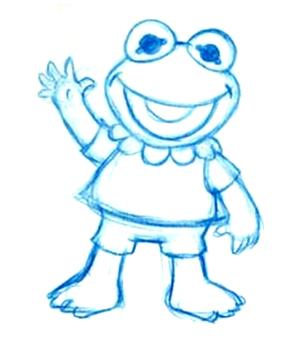 File:Baby kermit sketch.png