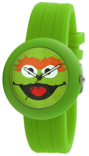 Viva time rubber strap watch oscar