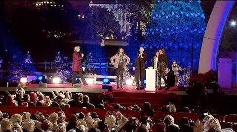 National Christmas Tree Lighting Ceremony 2013