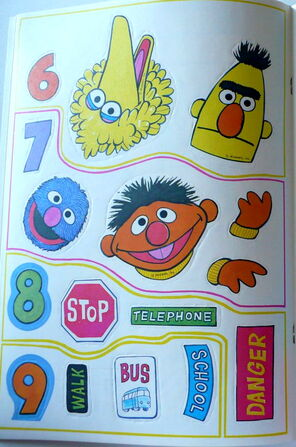 Grover sticker book 3