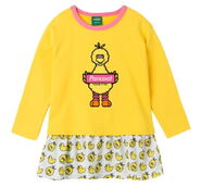 Pancoat onepiece big bird yellow