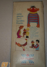 Sesame Street puppets (Harbert) ernie box 3