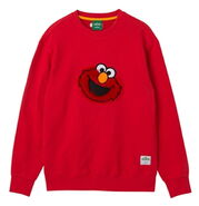 Pancoat sweatshirt elmo red turn