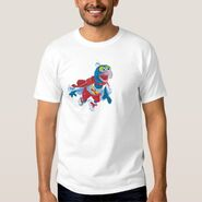 Zazzle gonzo flying shirt