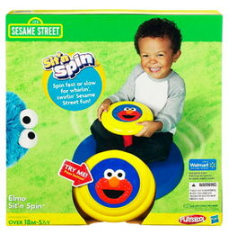 Hasbro 2011 elmo sit'n spin box