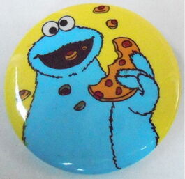 Sesame button cookie monster