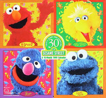Thirty Years and Counting: Sesame Street Calendar