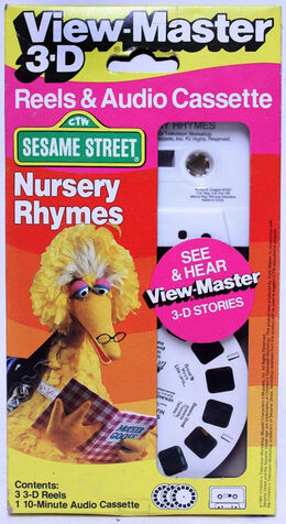View master reels tape nursery rhymes