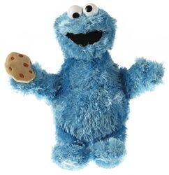 Living puppets cookie monster 22-26cm