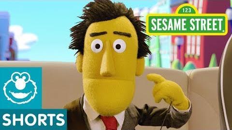 Sesame Street Bert and Ernie Play Name that Animal Car Game 3