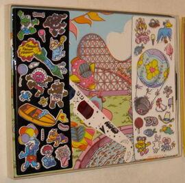 Colorforms 1985 muppet babies 3-d play set 2