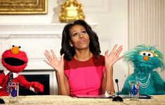 Michelle Obama State Dining Room of the White House2