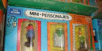 Plaza Sésamo PVC figures