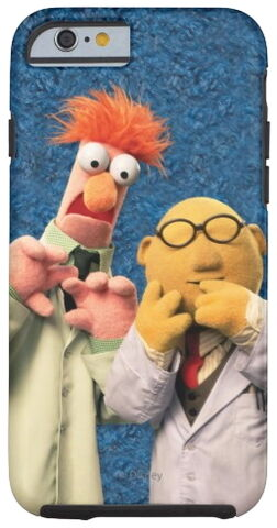 File:Zazzle dr bunsen honeydew and beaker.jpg