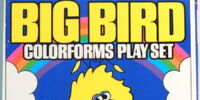 Big Bird Colorforms Play Set