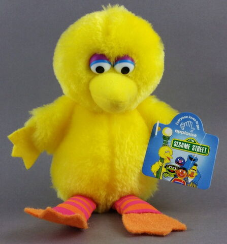 File:Big bird 7 inch applause.jpg