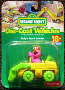 Fisher-price die-cast car telly front loader 1