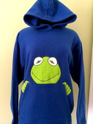 Jerry leigh entertainment apparel kermit collection hoodie 1