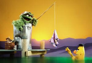 Oscar gets Bert naked