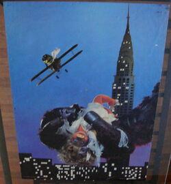 Scandecor 1980 miss piggy king kong pig dream ape poster