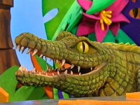 Frankie the Crocodile