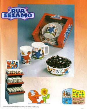 Rua Sesamo dinner set