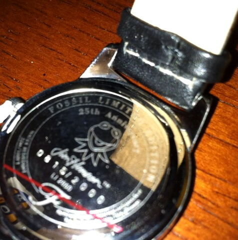 File:Fossil muppet show 25 years limited edition watch set 4.jpg
