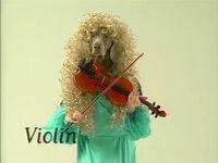 Wegmandogs.Violin