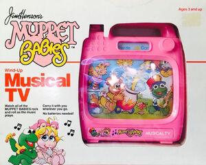 Muppet Babies Wind-Up Musical TV 01