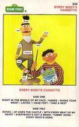 Sesame street cassette - every body's cassette 235
