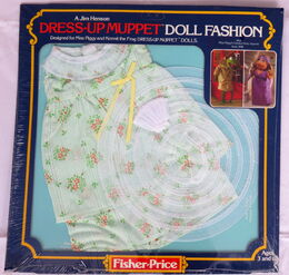 Fisher-price 1981 miss piggy dress up muppet doll 3