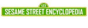 The Sesame Street Encyclopedia logo