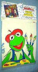 Innovo 1989 kiddy aprons art crafts muppet 7
