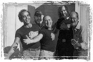 TheMuppetMovie-Frawley-Brooks-and-Henson-wearing-crew-shirts