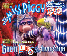 The Miss Piggy Calendar 1982
