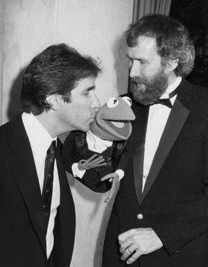 Henry Winkler and Jim Henson