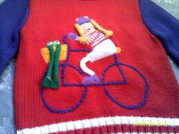 Ruth scharf sweater 1982 a