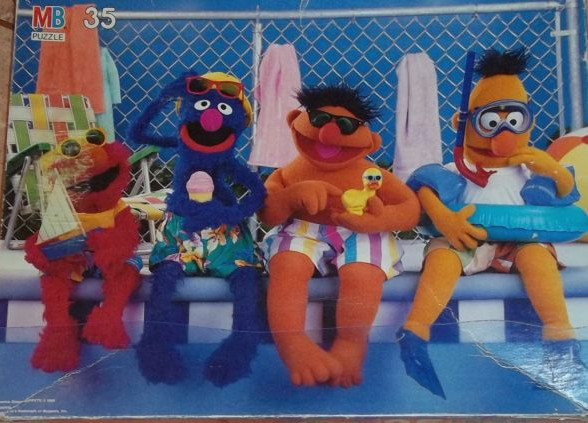 File:Milton bradley 1988 sesame floor puzzle pool 2.jpg