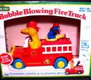 Bubble Blowing Fire Truck