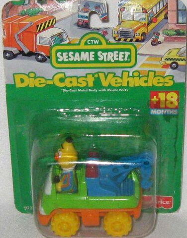 File:Fisher-price 1996 die-cast bert tow truck.jpg