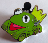 Winter 2016 disney racers kermit pin